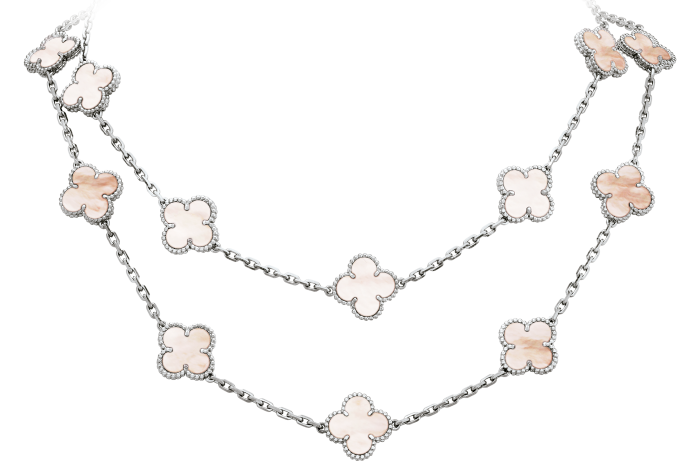 Van Cleef & Arpels Alhambra necklace, £4,450