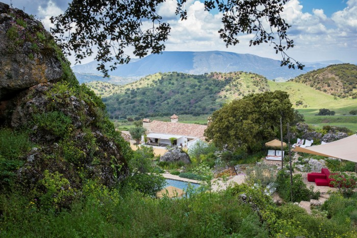 La Donaira, in the Andalucían hills, was a farm before it became a hotel