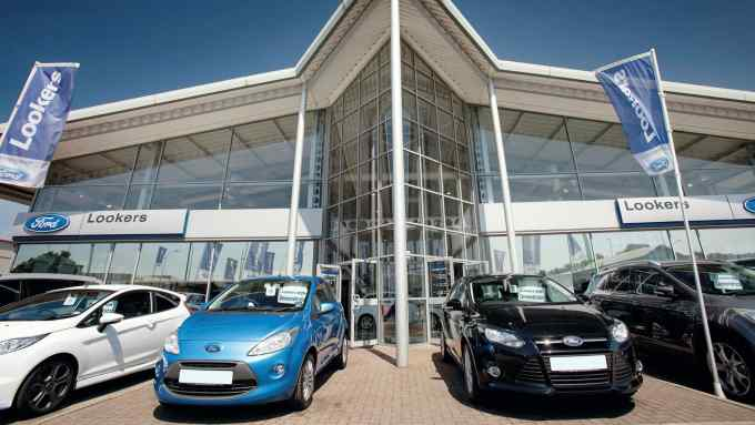 Car Dealership Lookers Expects Profits To More Than Halve Financial Times