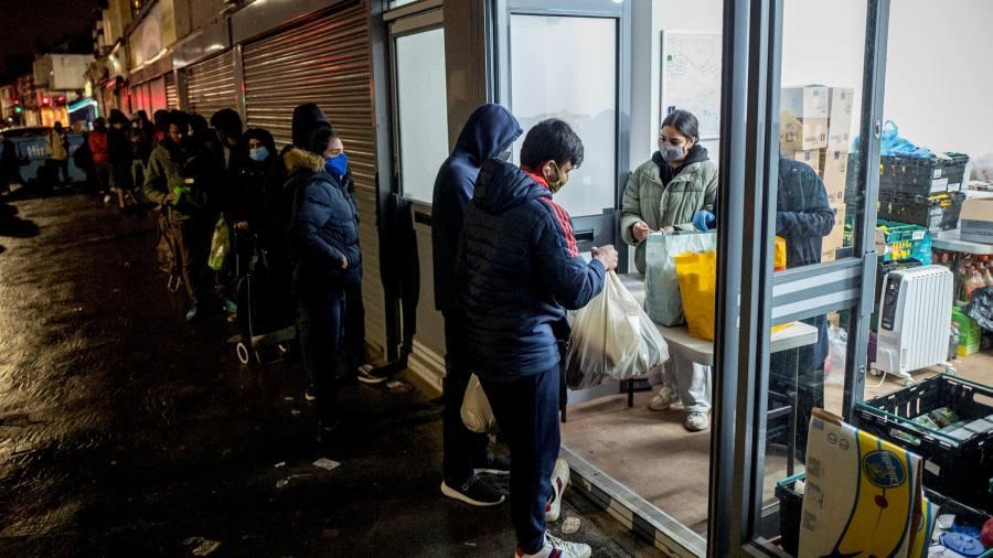 Overseas students rely on UK food banks in virus jobs shutdown