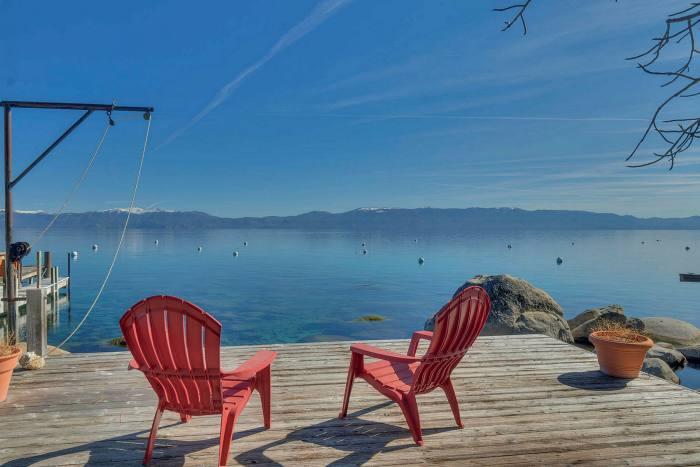 Meeks Bay, am Westufer des Lake Tahoe