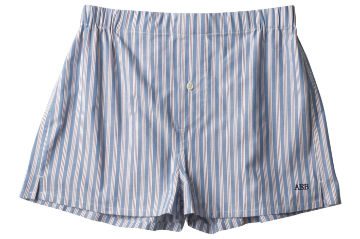 Hamilton and Hare made-to-measure boxer shorts, from £1,650 for a set of 20