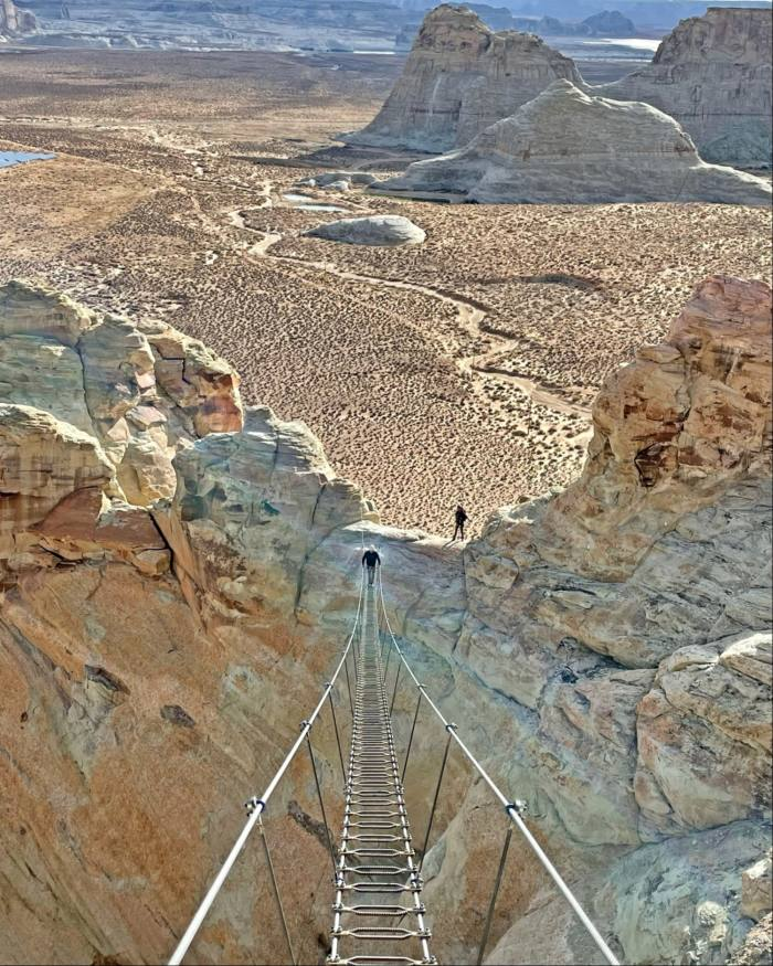 The Cave Peak Stairway at Amangiri on the edge of Utah's Grand Staircase-Escalante National Monument