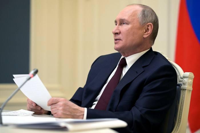 Президент России Владимир Путин на Саммите мировых лидеров по климату в прошлом месяце