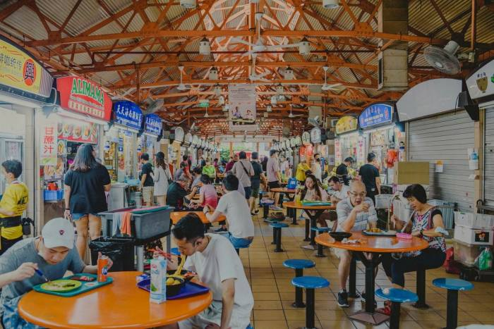 Maxwell Food Centre is one of Singapore's myriad street-food courts