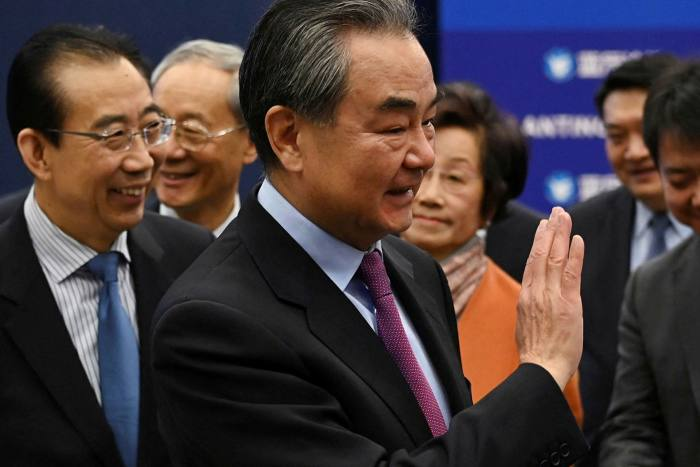 Chinese foreign minister Wang has branded US meddling in what Beijing considers domestic issues as ungentlemanly