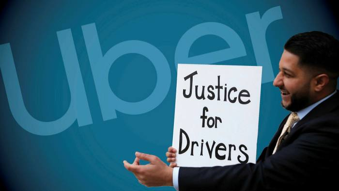 Uber agrees to classify UK drivers as workers entitled to benefits |  Financial Times