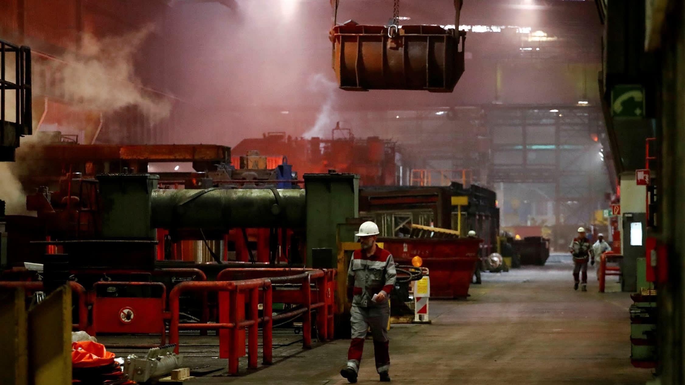 Thyssenkrupp's steel woes send shares tumbling
