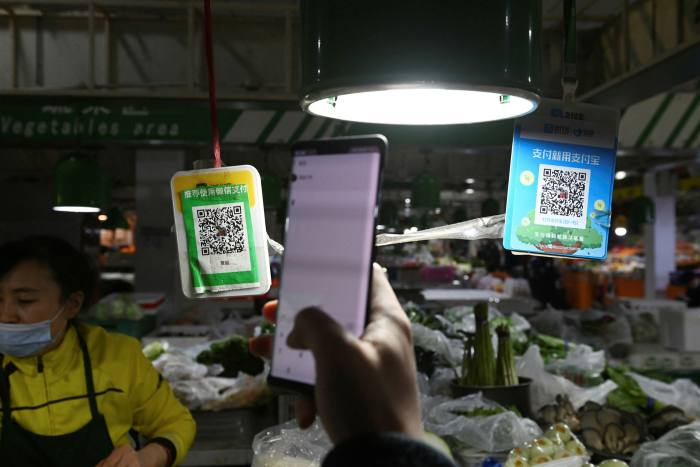 Alibaba had more than 700 million monthly active users as of June, while Tencent's WeChat Pay had more than 800 million in 2019
