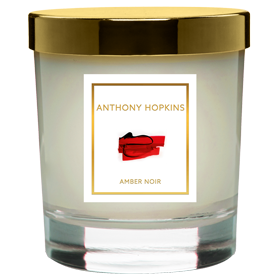 His own-brand Amber Noir candle