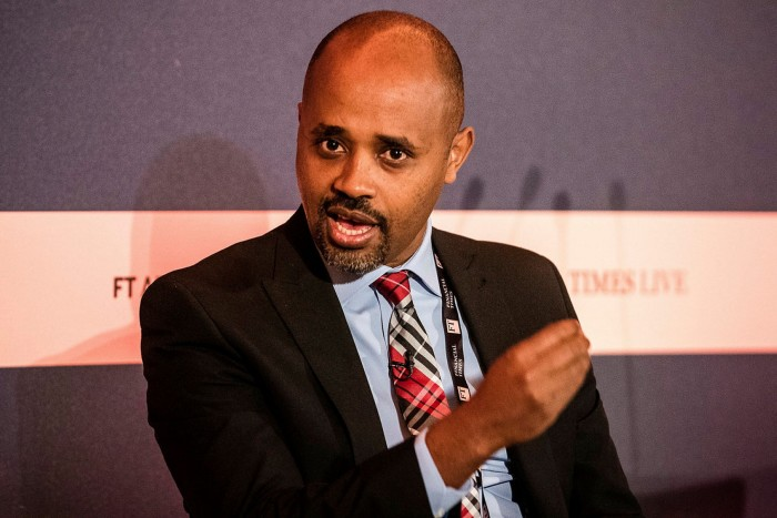 State minister of finance Eyob Tolina says Ethiopia, whose gross domestic product grew 6.1 per cent in 2020, could quickly bounce back towards double-digit growth
