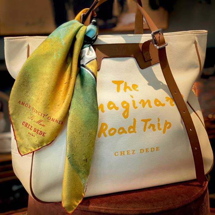 Chez Dede's range of bags has acquired a cult following