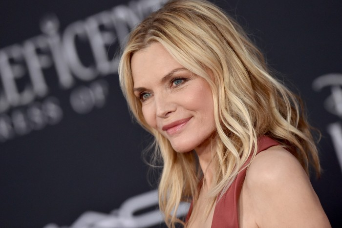 Pfeiffer at the premiere of Maleficent: Mistress of Evil in 2019