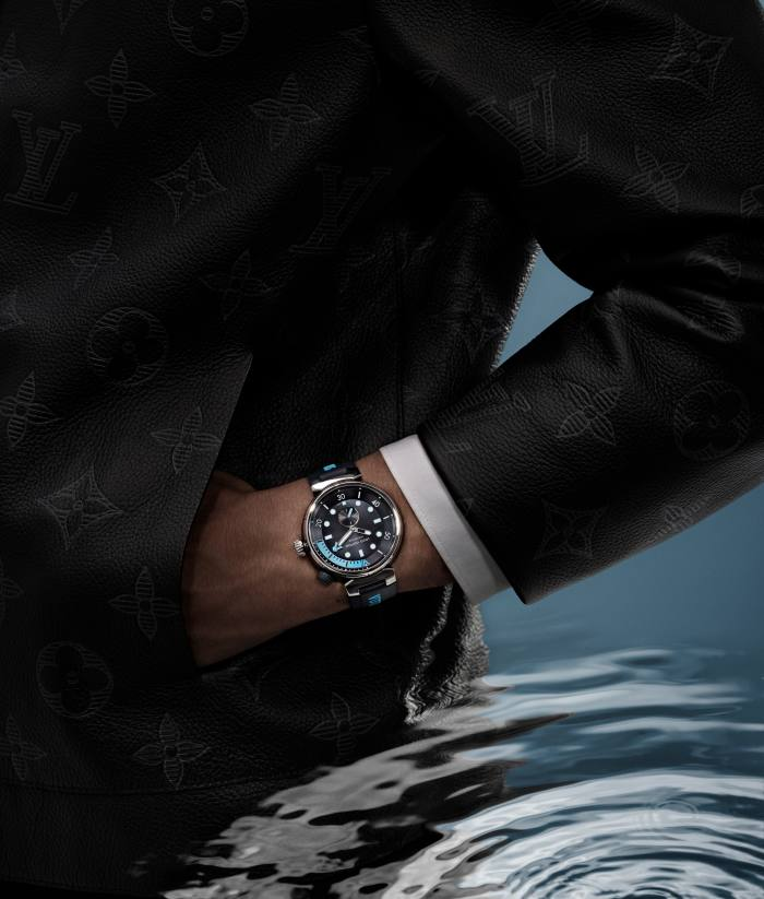 Louis Vuitton Tambour Street Diver, from £4,200