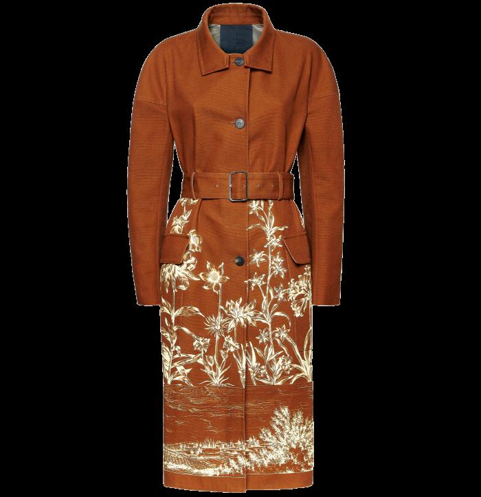 Ferragamo cotton canvas coat with Tuscan landscape print, £2,030