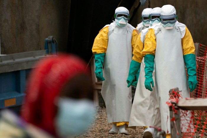 Ebola was one of several respiratory disease outbreaks in recent decades