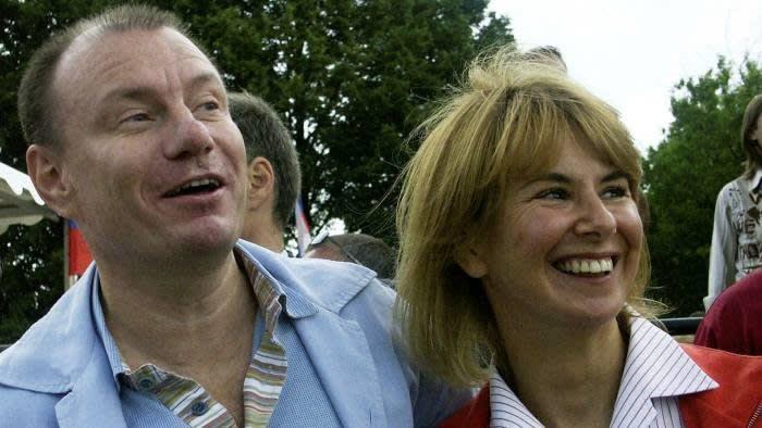 Vladimir Potanin (Vladimir Potanin) and Natalia Potanina (Natalia Potanina).The couple divorced in Russia in 2014