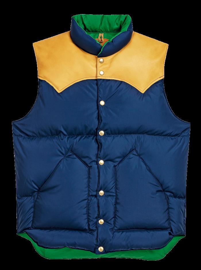 Rocky Mountain vest, £475, from Beige Habilleur