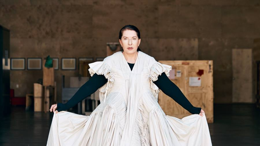 Marina Abramovic: 'I asked Richard Branson for a one-way ticket to outer space'