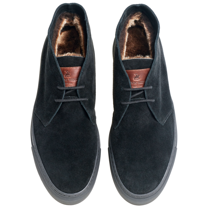 Ludwig Reiter shearling-lined suede sneakers, €329