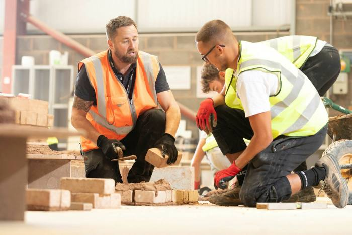 Construction course being taught at Exeter College