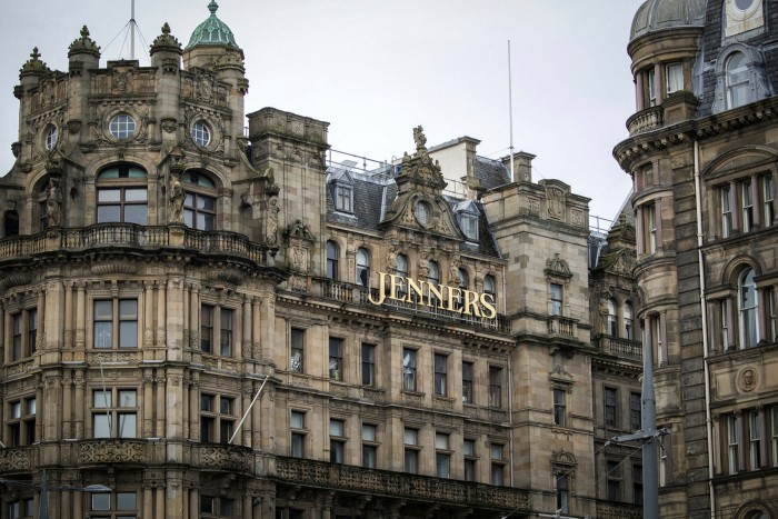 Jenners on Princes Street in Edinburgh will be transformed into a hotel with a smaller department store below
