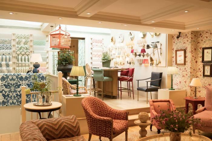 The Soane Britain showroom on Pimlico Road, London