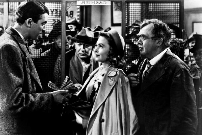 A scene from 'It's a Wonderful Life'