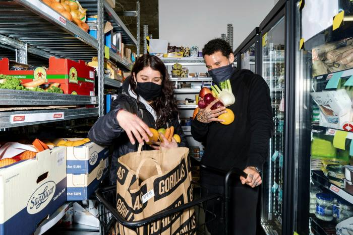 Berlin-based Gorillas charges Londoners £1.80 to deliver anything from a 30p apple to a £10 case of cider — with no minimum order value
