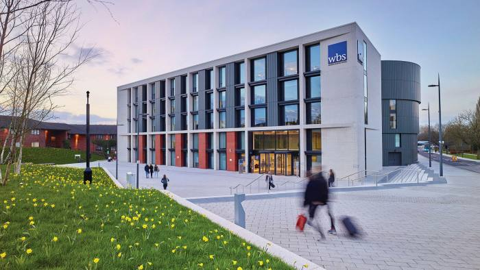 First again: Warwick Business School tops the table for the fourth year in a row