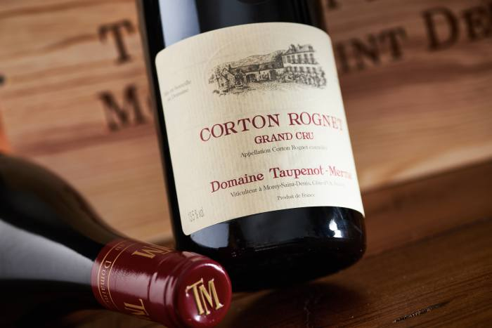 Corton Rognet Grand Cru, Domaine Taupenot-Merme