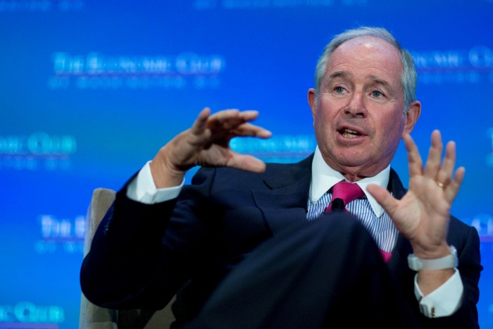 Steve Schwarzman offered an insight into how highly prized the tax regime was in 2010, when he compared the Obama proposal to raise the tax to 'a war'