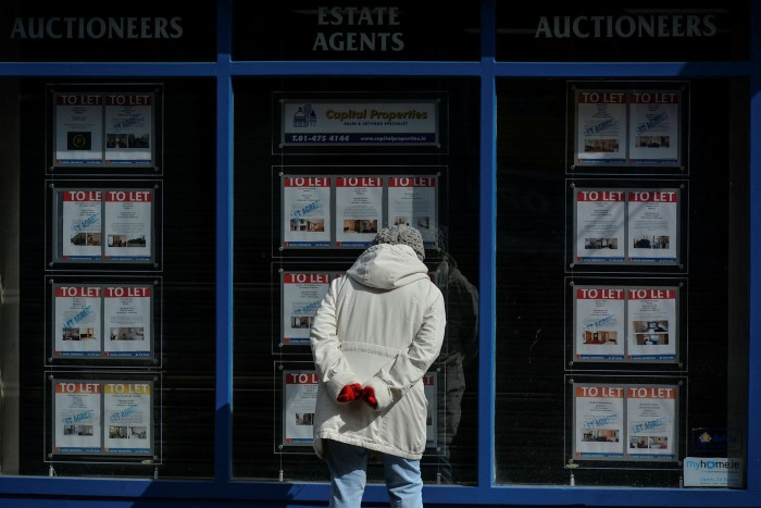 Real Estate Agents Window
