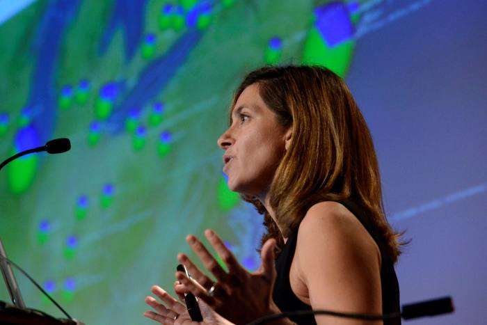 Lauren Ancel Meyers says 'herd immunity is pretty unlikely in the foreseeable future'