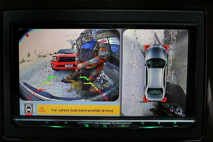 An Advanced Driver Assistance Systems camera in operation. The traditional automotive industry has evolved ADAS into a multi-faceted feature set capable of hands-free highway driving, automated lane changes and robotic valet parking