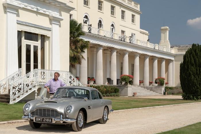 The new Aston Martin Bond DB5, £2.75m plus tax