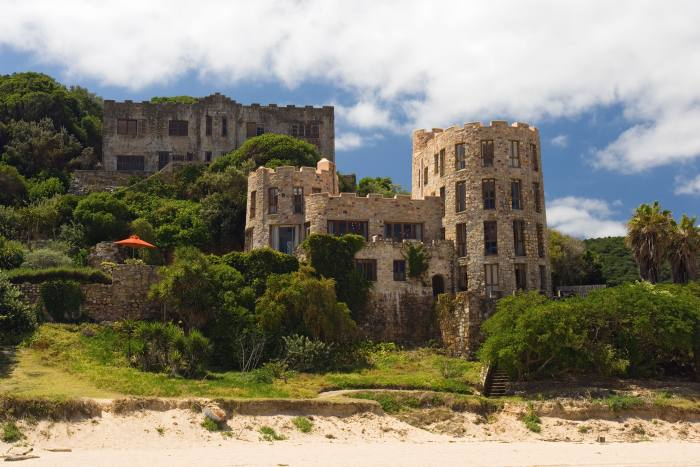 Knysna Castle on Noetzie Beach, Knysna