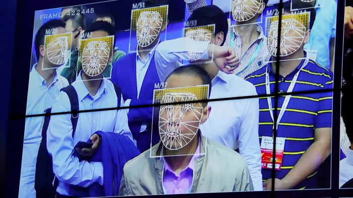 Visitors experience facial recognition technology during the China Public Security Expo in Shenzhen. China has made big advances in areas such as facial recognition as it aims to end the lead of the west in artificial intelligence and other advanced technologies