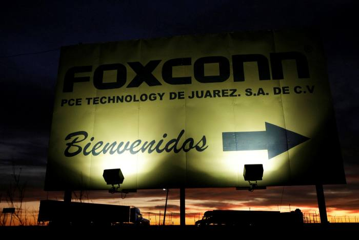 ... and of Foxconn PCE Technology, in Ciudad Juárez, Mexico