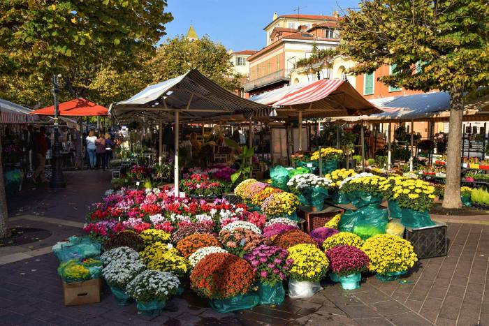 Cours Saleya, the food and flower market