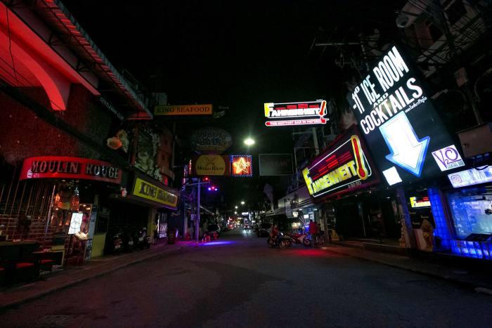 Walking Street in Pattaya, Thailand