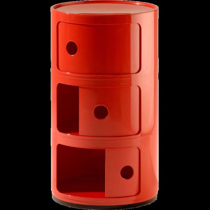 Kartell Componibili storage unit, £112, madeindesign.co.uk