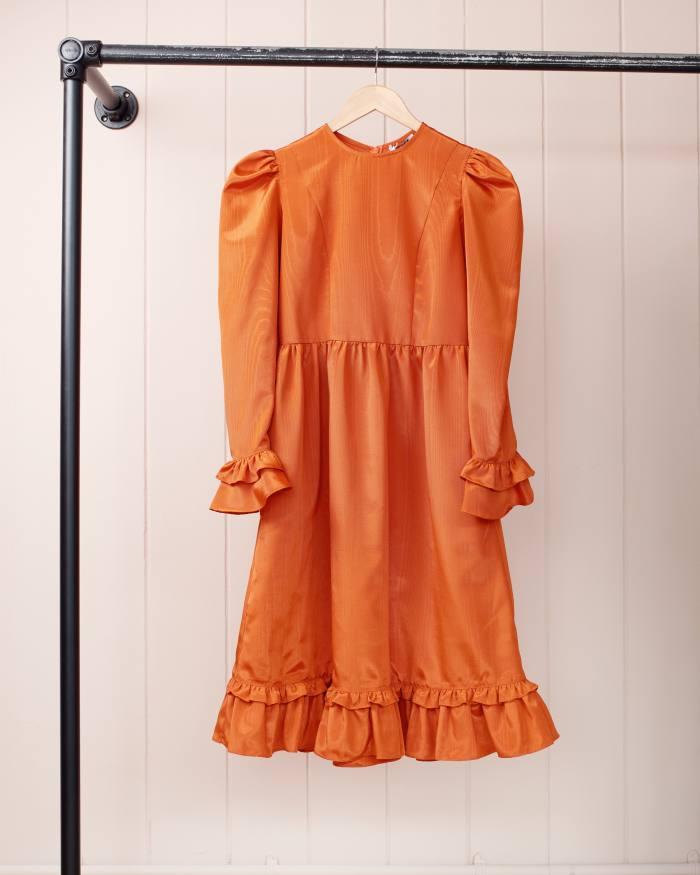 Batsheva moire dress, £425