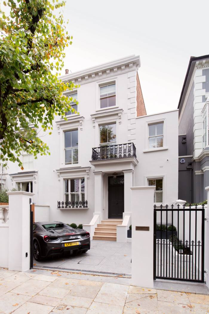 A five-bedroom house inChepstow Villas, in London's Notting Hill, is£15m with Domus Nova