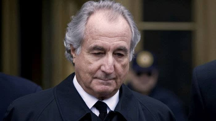 Prosecutors pegged the size of Bernard Madoff's Ponzi scheme at $64.8bn, the largest such fraud in history