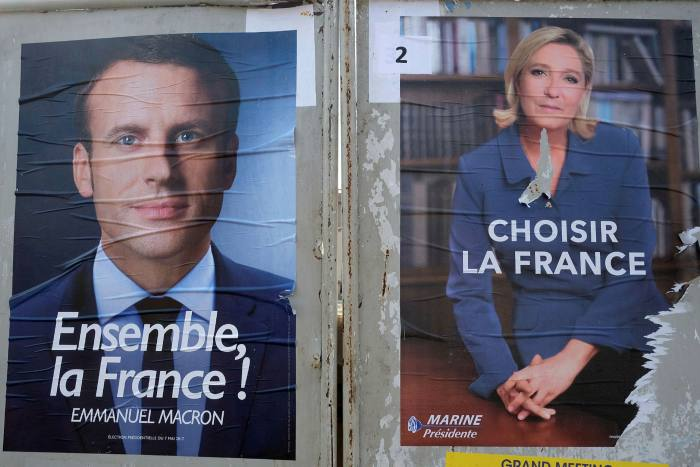 The rise of the National Front party, led by Marine Le Pen (right), and the election of Emmanuel Macron, a liberal centrist, as president, changed French politics