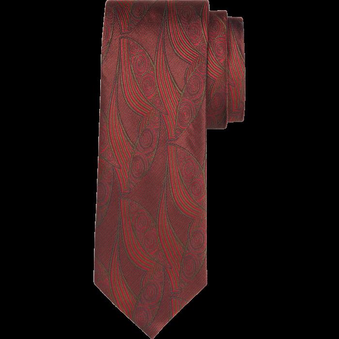 Canali Decò-motif tie, £110