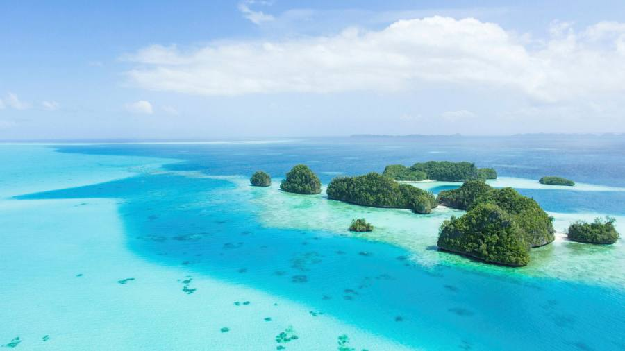 Wish I were there: the pristine waters of Palau