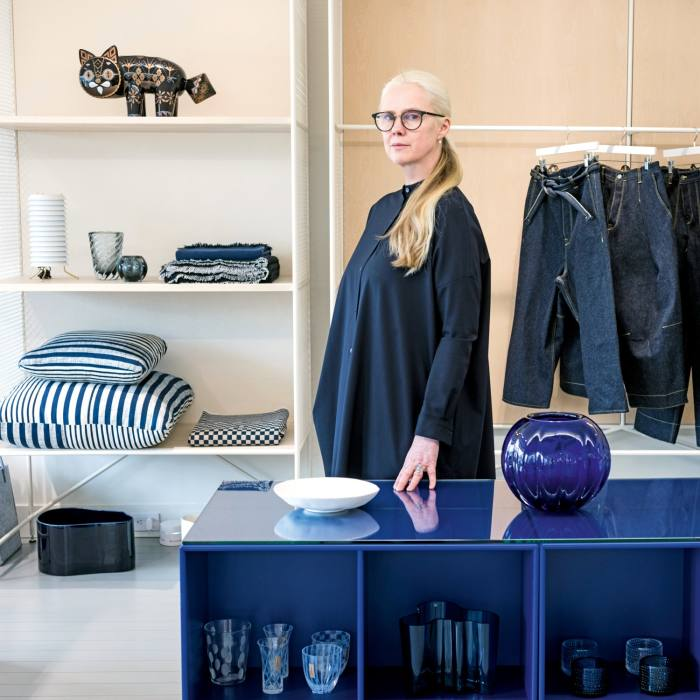 Tiina Laakkonen at her eponymous store