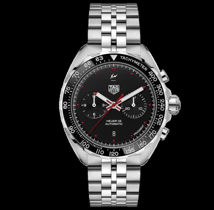 TAG Heuer x Fragment Design steel watch, £5,050